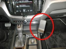 Fixation voiture Volvo XC60. Réf Brodit 835343