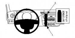 Accessoires de montage  Brodit Nissan NV400 Accessoires de montage Réf 213469