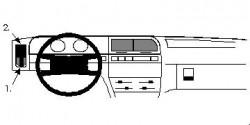 Fixation voiture Proclip  Brodit Citroen Xantia Réf 801995