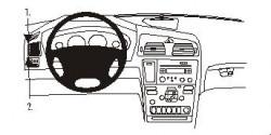 Fixation voiture Proclip  Brodit Volvo S60 Réf 802778