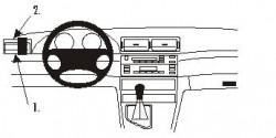 Fixation voiture Proclip  Brodit BMW 316-330/M3 E46 Réf 802851