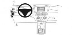 Fixation voiture Proclip  Brodit Suzuki Liana Réf 802928