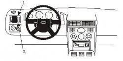 Fixation voiture Proclip  Brodit Ford Mondeo Réf 802986