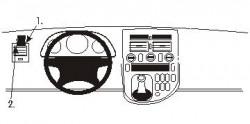 Fixation voiture Proclip  Brodit Mercedes Benz V-Class Réf 802988