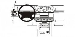 Fixation voiture Proclip  Brodit Nissan X-Trail Réf 803017