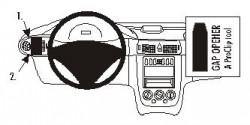 Fixation voiture Proclip  Brodit Mercedes Benz Vaneo Réf 803047