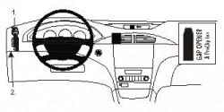 Fixation voiture Proclip  Brodit Renault Laguna Réf 803066