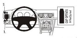 Fixation voiture Proclip  Brodit Opel Signum Réf 803078