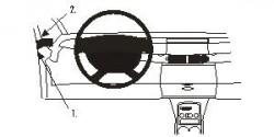 Fixation voiture Proclip  Brodit Renault Espace Réf 803184