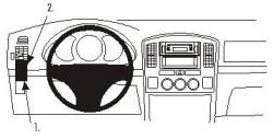 Fixation voiture Proclip  Brodit Suzuki Grand Vitara Réf 803208