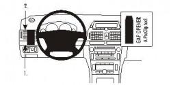 Fixation voiture Proclip  Brodit Toyota Avensis Réf 803213