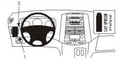 Fixation voiture Proclip  Brodit Toyota Sienna Réf 803242