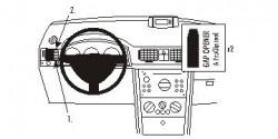 Fixation voiture Proclip  Brodit Opel Meriva Réf 803263