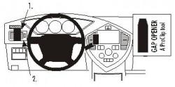 Fixation voiture Proclip  Brodit Kia Carens II Réf 803275
