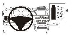 Fixation voiture Proclip  Brodit BMW 520-545/M5 E60, E61 Réf 803284