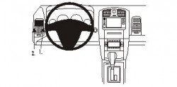 Fixation voiture Proclip  Brodit Cadillac CTS Réf 803311