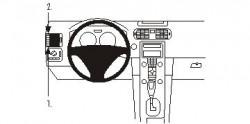 Fixation voiture Proclip  Brodit Volvo C30 Réf 803362