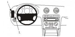 Fixation voiture Proclip  Brodit Audi A3 Réf 803416