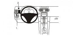 Fixation voiture Proclip  Brodit Volvo C30 Réf 803501
