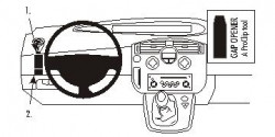 Fixation voiture Proclip  Brodit Renault Scenic Réf 803503
