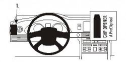 Fixation voiture Proclip  Brodit Audi A6 Réf 803509