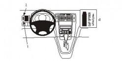 Fixation voiture Proclip  Brodit Hyundai Tucson Réf 803532
