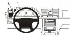 Fixation voiture Proclip  Brodit Ssang Yong Rexton Réf 803578