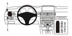 Fixation voiture Proclip  Brodit BMW 316-330/E90/E91/E92/E93  SEULEMENT pour les modèles avec option GPS d'origine. PAS pour la finition bois PAS pour Coupé. Réf 803596