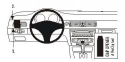 Fixation voiture Proclip  Brodit BMW 316-330/E90/E91/E92/E93  PAS pour les modèles avec la navigation de l'usine (sauf coupé). PAS pour la finition bois Réf 803600