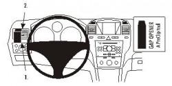 Fixation voiture Proclip  Brodit Opel Zafira B Réf 803671