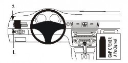 Fixation voiture Proclip  Brodit BMW 316-330/E90/E91/E92/E93  SEULEMENT pour la finition bois Réf 803720