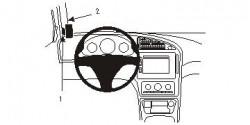 Fixation voiture Proclip  Brodit Saab 9-5 Réf 803723