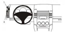 Fixation voiture Proclip  Brodit Mazda 5 Réf 803806