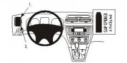 Fixation voiture Proclip  Brodit Skoda Octavia II  UNIQUEMENT pour les Ambiente 05-13, 05-13 Classique, Élégance 05-13, RS 05-13, 07-13 Scout. Réf 803807