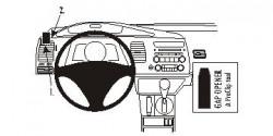 Fixation voiture Proclip  Brodit Acura CSX Réf 803809