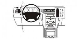 Fixation voiture Proclip  Brodit Chevrolet Avalanche  SEULEMENT pour le style de tableau de bord avec console centrale et deux bouches d'air au-dessus de la stéréo. Réf 803841