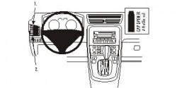 Fixation voiture Proclip  Brodit Fiat Croma Réf 803864