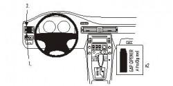 Fixation voiture Proclip  Brodit Volvo S80 Réf 803872