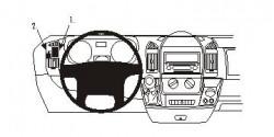 Fixation voiture Proclip  Brodit Citroen Jumper Réf 803878