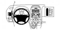 Fixation voiture Proclip  Brodit Citroen Jumpy III  Va bloquer le porte-gobelet. Réf 803974