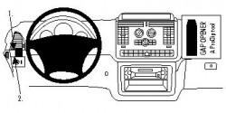 Fixation voiture Proclip  Brodit Mercedes Benz V-Class Réf 803997