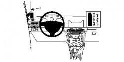 Fixation voiture Proclip  Brodit Opel Astra  PAS pour le modèle GTC. Réf 804064
