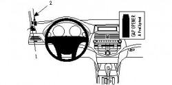 Fixation voiture Proclip  Brodit Honda Accord Réf 804099