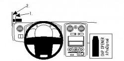 Fixation voiture Proclip  Brodit Isuzu D-Max Réf 804118