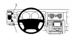 Fixation voiture Proclip  Brodit Hummer H2 Réf 804159