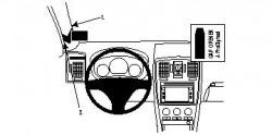 Fixation voiture Proclip  Brodit Cadillac BLS Réf 804177