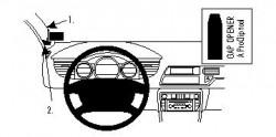 Fixation voiture Proclip  Brodit Citroen C5 III Réf 804182