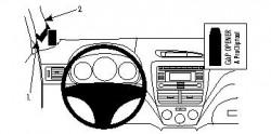 Fixation voiture Proclip  Brodit Subaru Forester Réf 804186