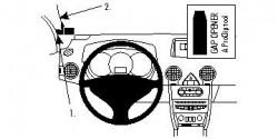 Fixation voiture Proclip  Brodit Renault Koleos Réf 804224