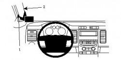 Fixation voiture Proclip  Brodit Ford Flex Réf 804236